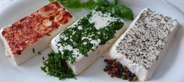 čerstvý vegan sýr